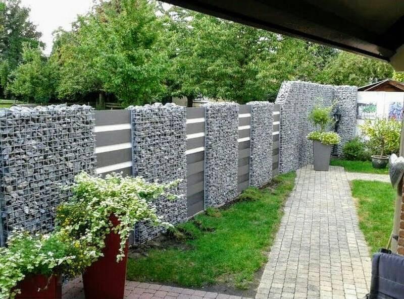 Забор из габиона своими руками: пошаговая инструкция – советы по ремонту