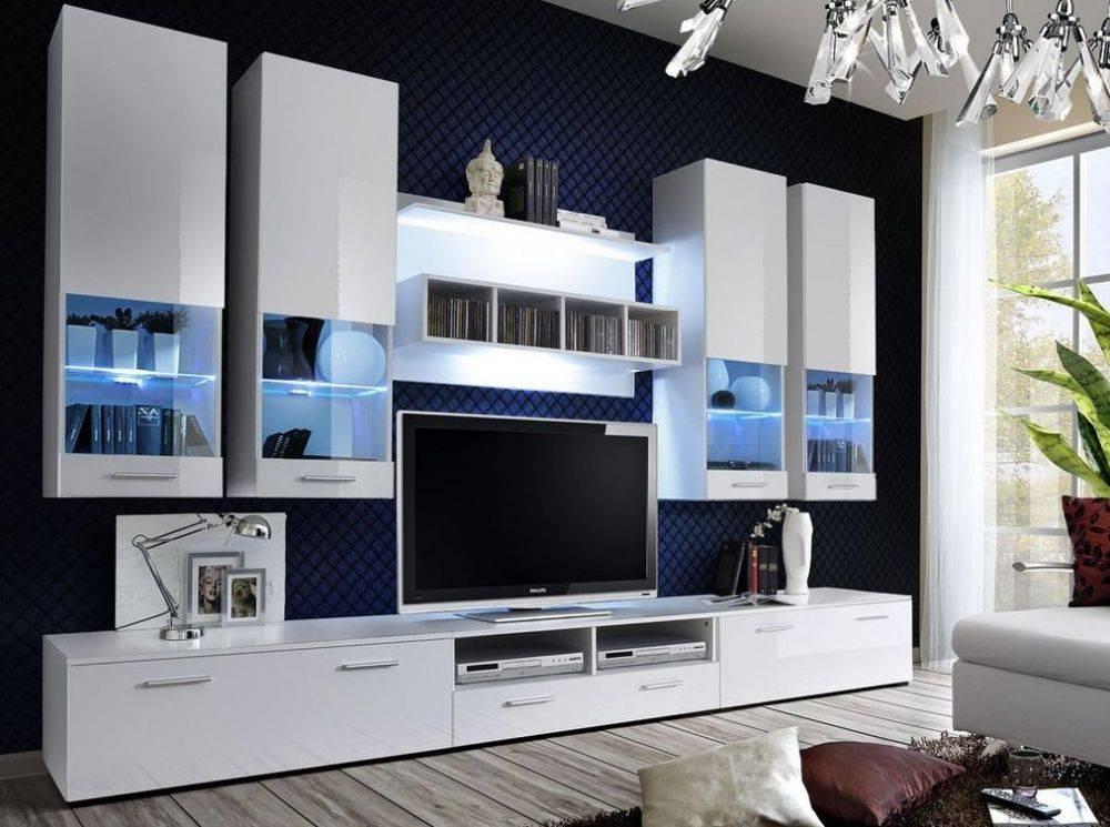 Белая гостиная – модная тенденция - 111 фото примеров
