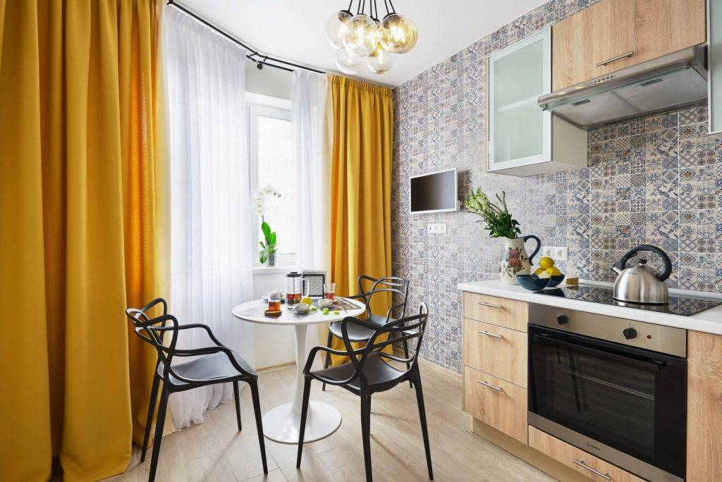 Дизайн кухни 9 кв. м: 100 фото новинок, цвет, стиль, планировка