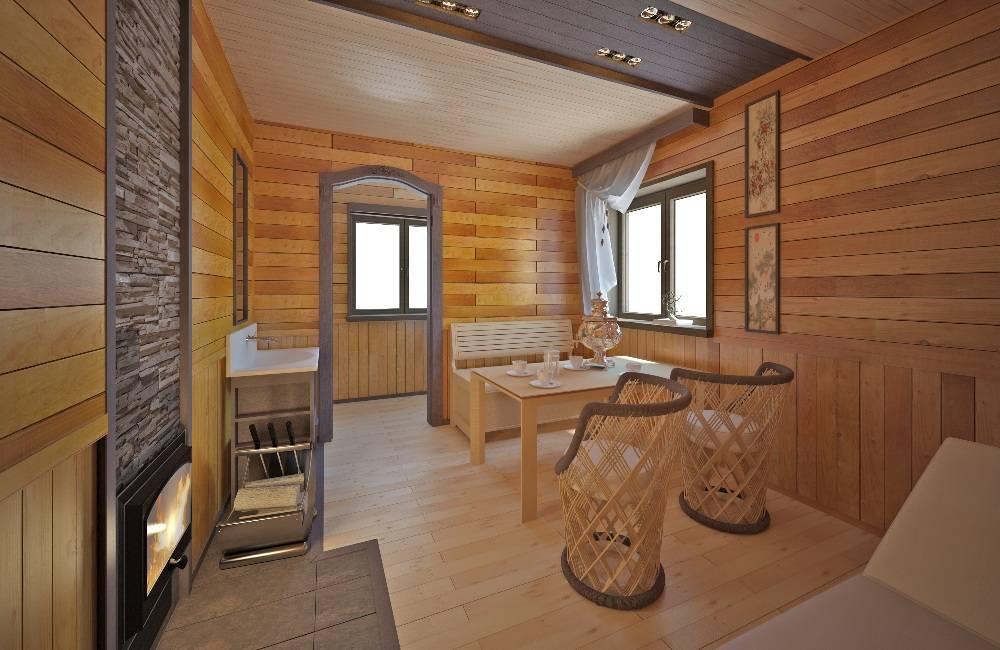 Дизайн бани: от материалов отделки до выбора стиля интерьера