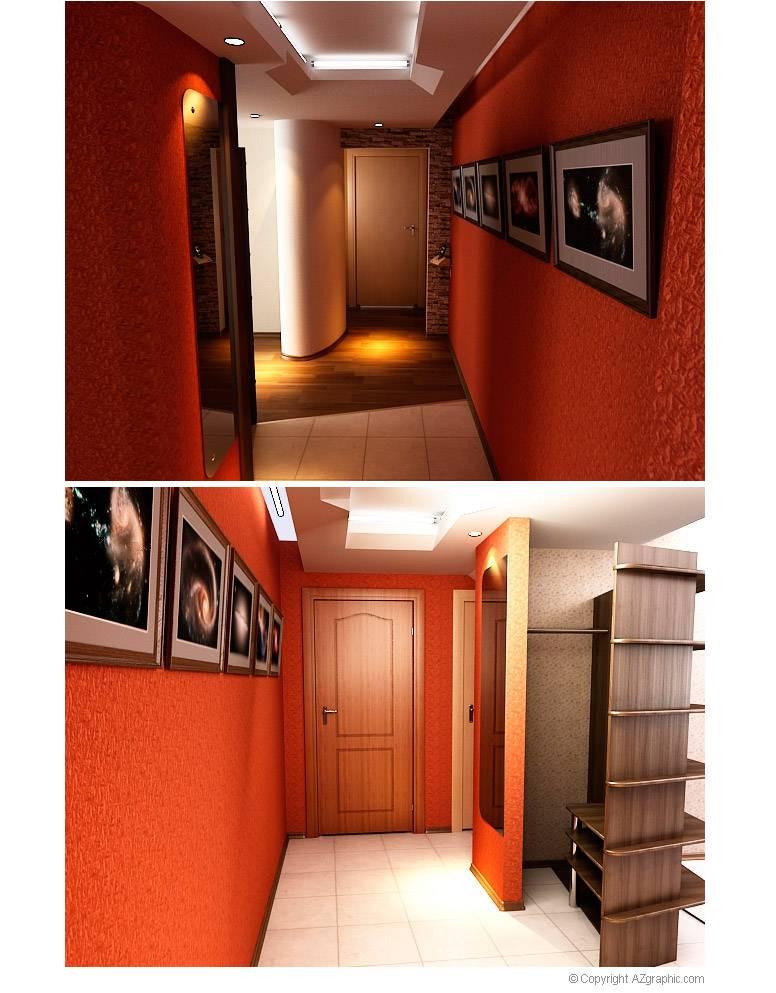 Дизайн коридора в панельном доме: фото - ремонт квартир фото