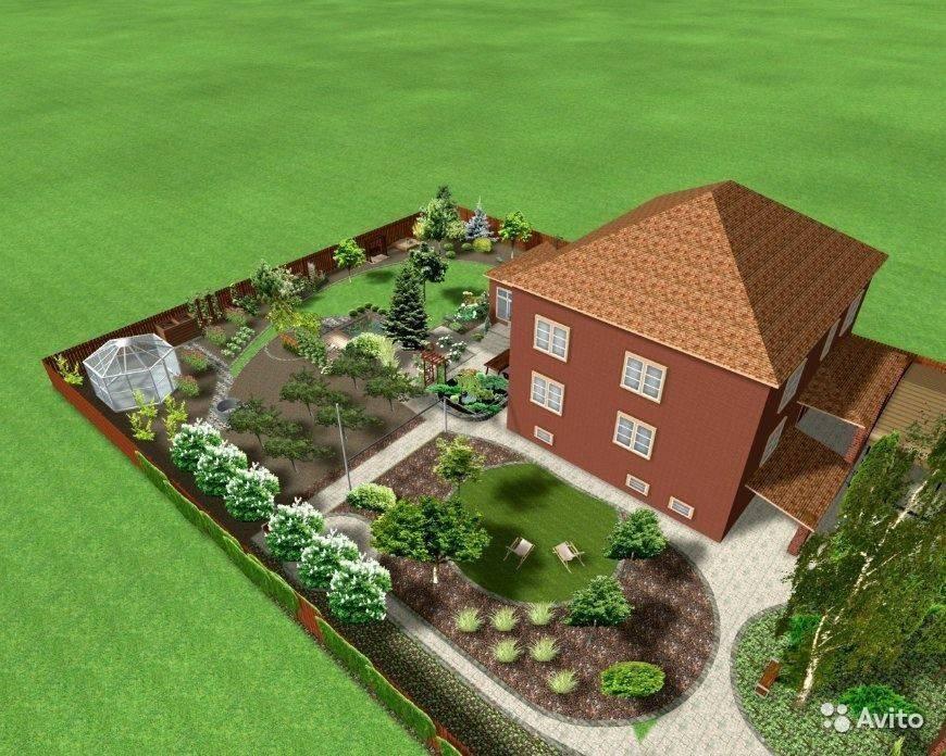 Как распланировать участок 15 соток? 48 фото примеры, план с домом, баней и гаражом.  схема участка квадратной формы и по сторонам света