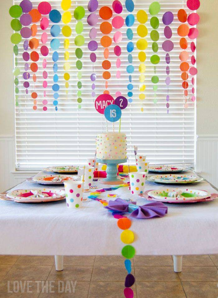 Как устроить хороший детский день рождения легко и дёшево?