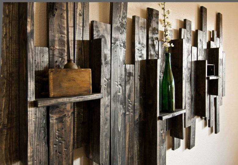 Отделка стен деревом — 75 фото красивого декоративного оформления в интерьере
