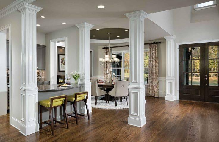 Колонны в интерьере квартиры: зачем и что с ними делать, советы квартблога