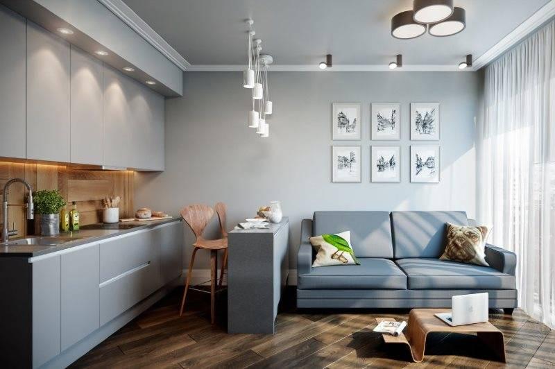 Кухня-гостиная 30кв м: 9 проектов с планировками и 40 фото дизайна интерьера кухни-гостиной на 30 метрах
