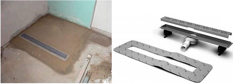 Слив для душа в полу под плитку: виды конструкции, выбор места и инструкция по обустройству своими руками