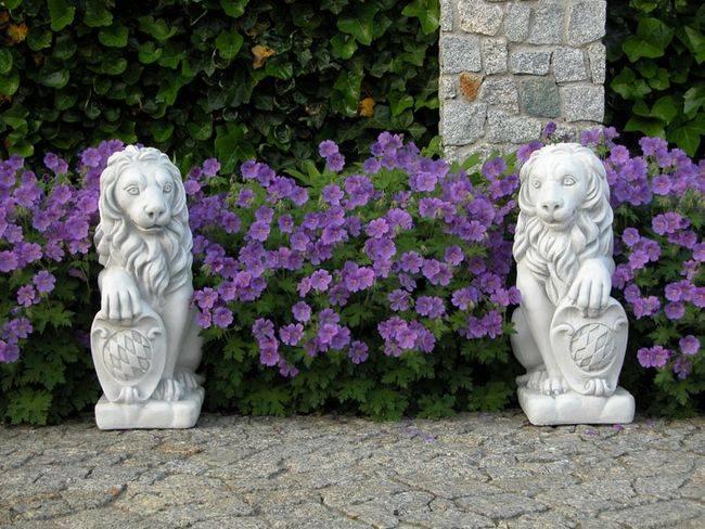 Фигуры из дерева и цемента для сада в ландшафтном дизайне, как из мягкой игрушки сделать садовую скульптуру  - 32 фото