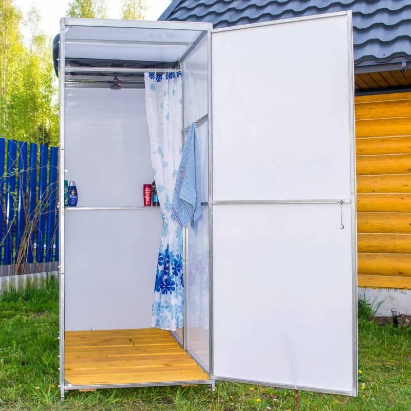 Как сделать летний душ на даче: пошаговая инструкция
