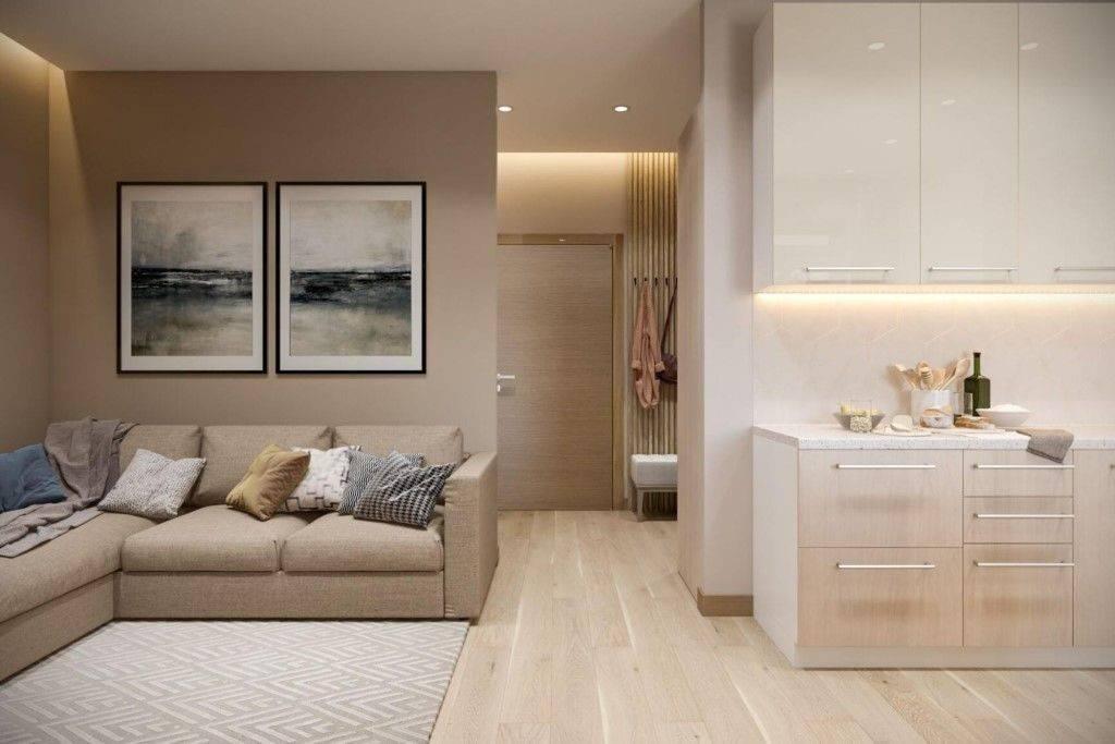 Квартира 30 кв. м. – идеальный дизайн и структура от профессионалов! (70 фото-идей)