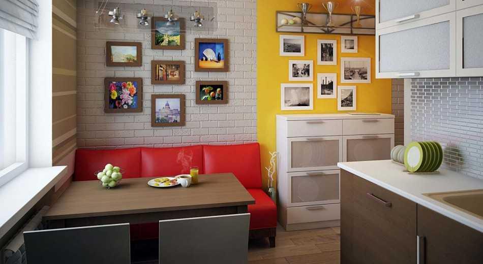 Диван на кухню со спальным местом - 35 фото современных вариантов