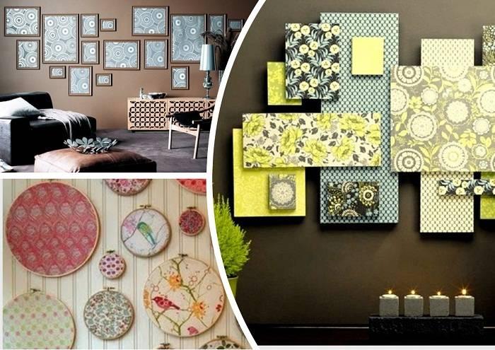 Декор из остатков обоев, как использовать остатки обоев, интересные идеи декорирования и практичные советы - 29 фото