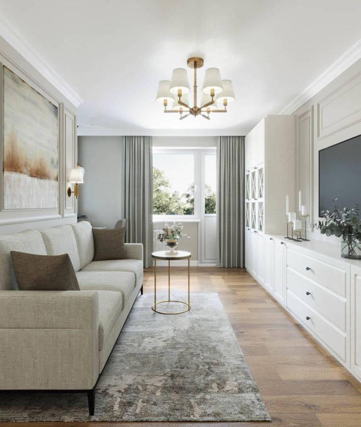 Стиль неоклассика в интерьере: дизайн кухни, спальни и гостиной   - 33 фото