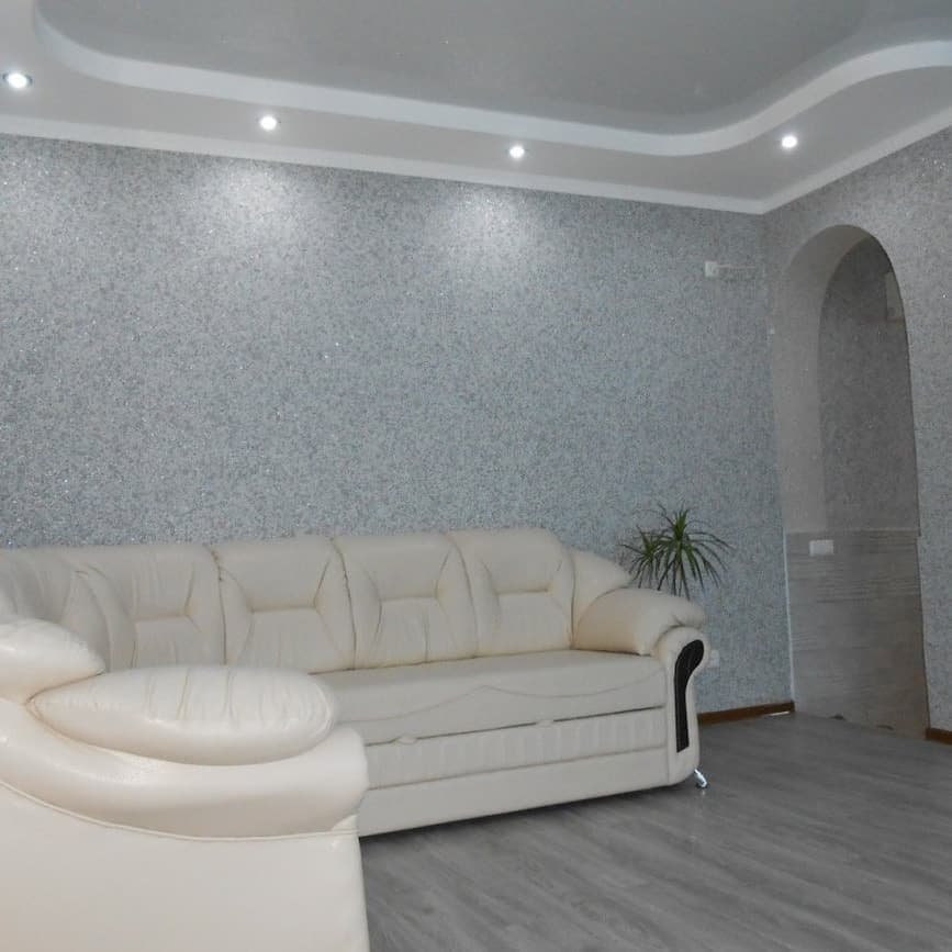 Жидкие обои в интерьере комнат (150+ фото): обновки в дизайне