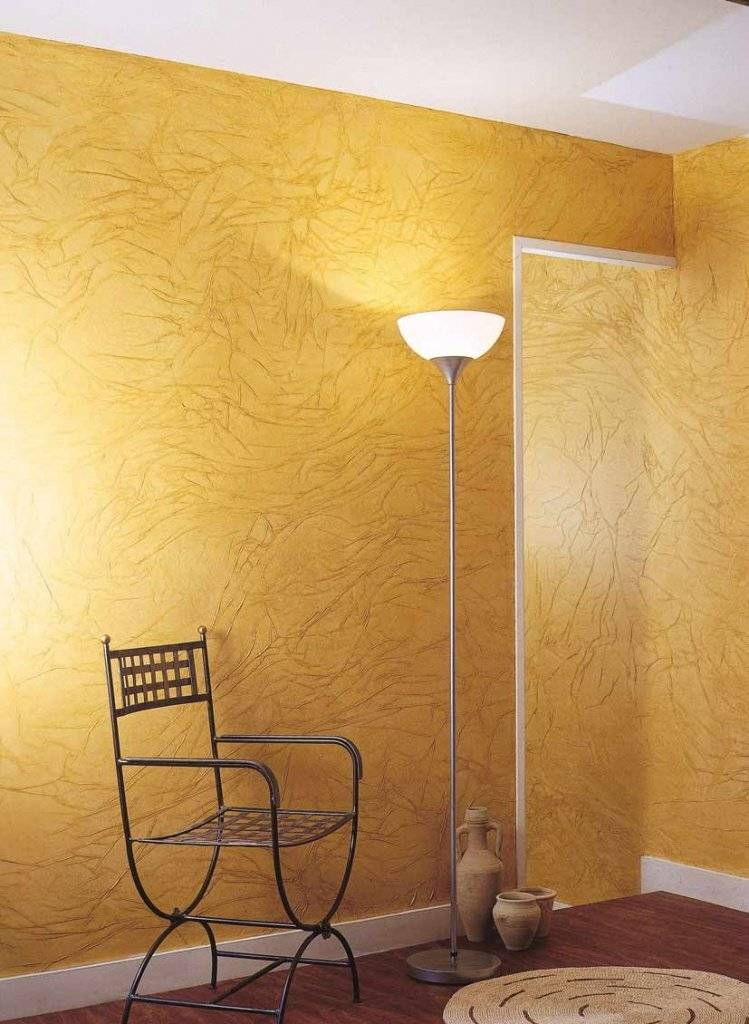 Декоративная краска для стен: особенности применения - 24 фото