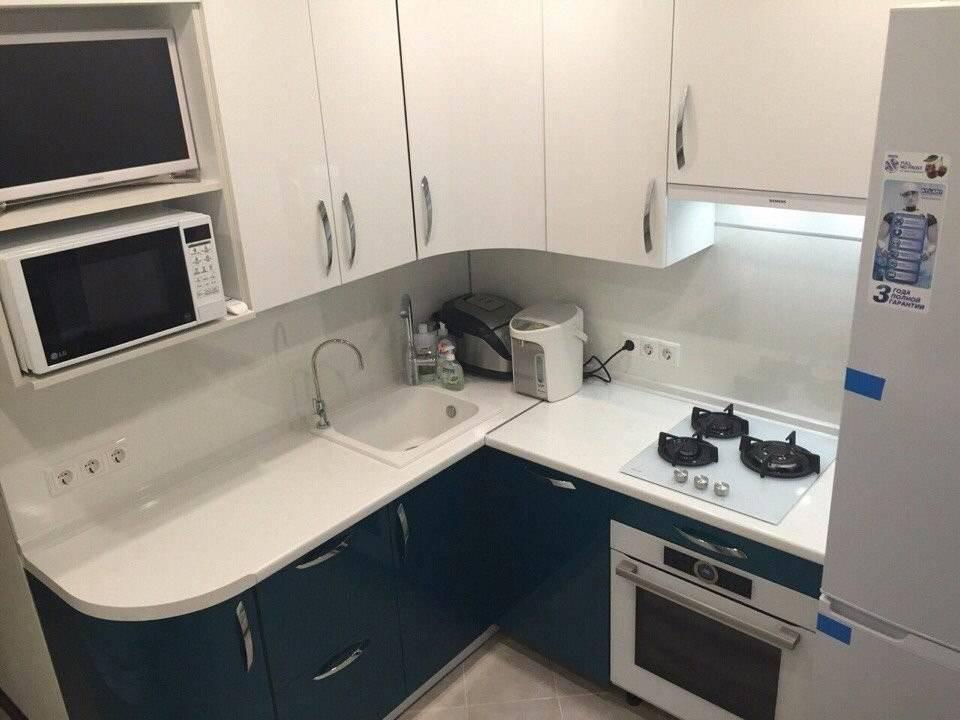 Очень маленькая кухня в хрущевке — фото крутого дизайна на 5,5 квадратах - remontkit