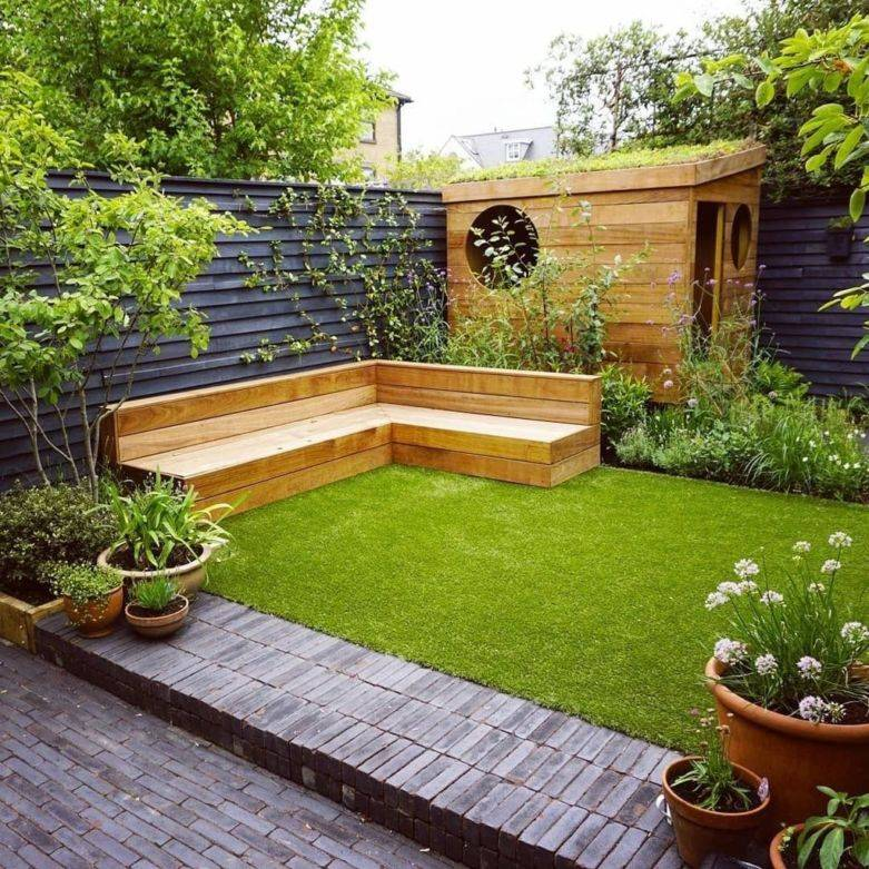 Дизайн двора частного дома: идеи по созданию красивого двора своими руками (150 фото)