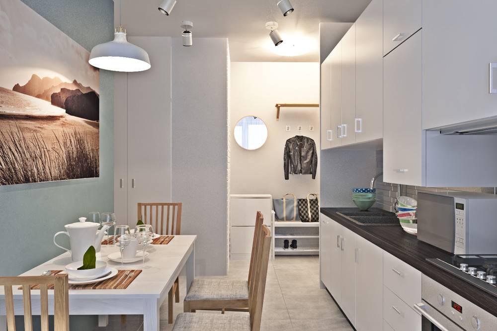 Современный дизайн однокомнатной квартиры 40-42 кв.м: фото интерьеров + 5 проектов