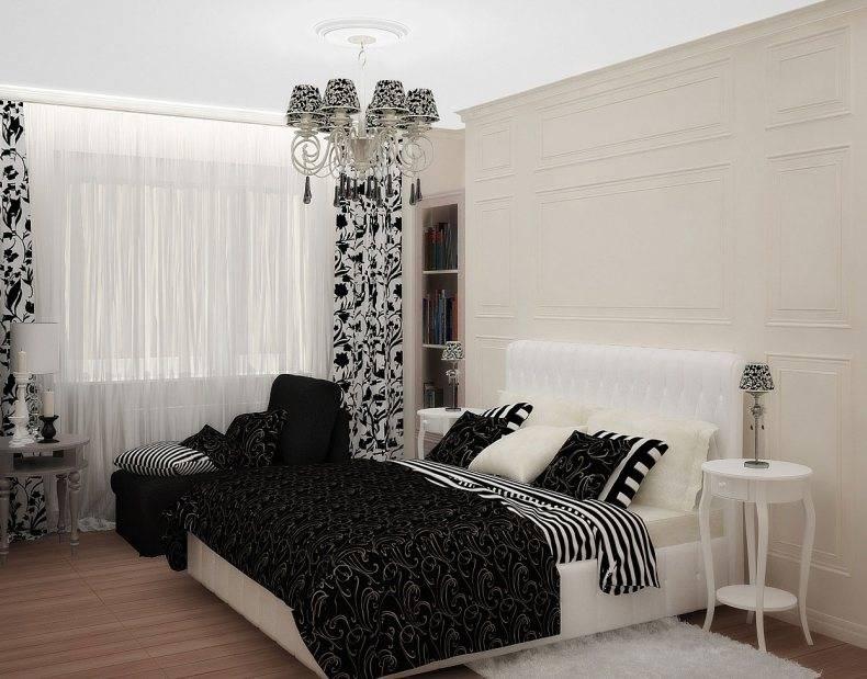 Черная стена, комната в черно белом стиле и дизайн гостиной: сочетание черного цвета с другими цветами в интерьере  - 38 фото