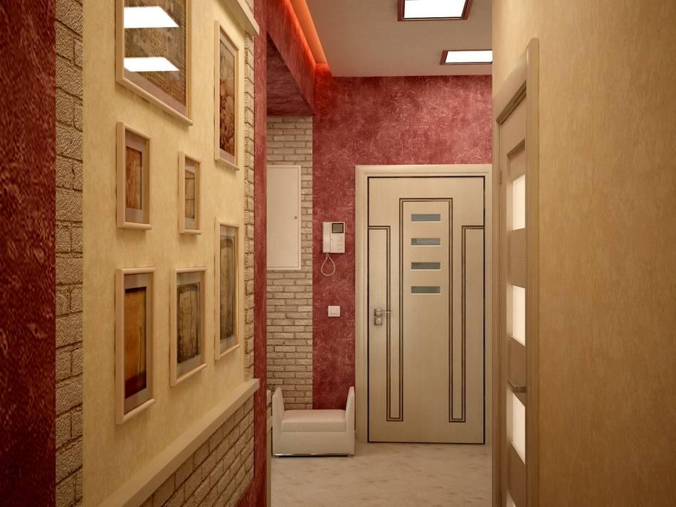 Варианты отделки стен в прихожей (90 фото): варианты дизайна коридора в квартире с нишей, чем отделать, цвет стен и декор, оформление, покраска и ламинат на стене
