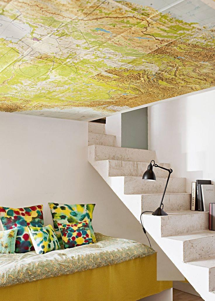 Дизайн потолков: тонкости оформления интерьера