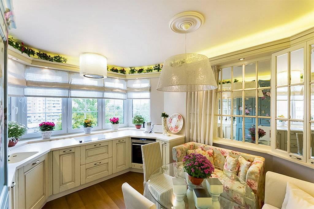 Дизайн кухни с эркером: 115 интересных идей в фото, эркерные кухни в п44т, в частном доме, особенности обустройства