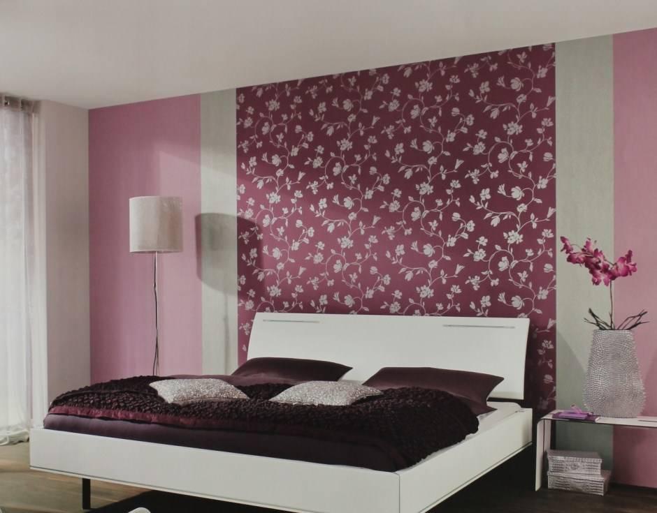 Комбинирование обоев в спальне - обзор лучших идей и новинок дизайна (120 фото)
