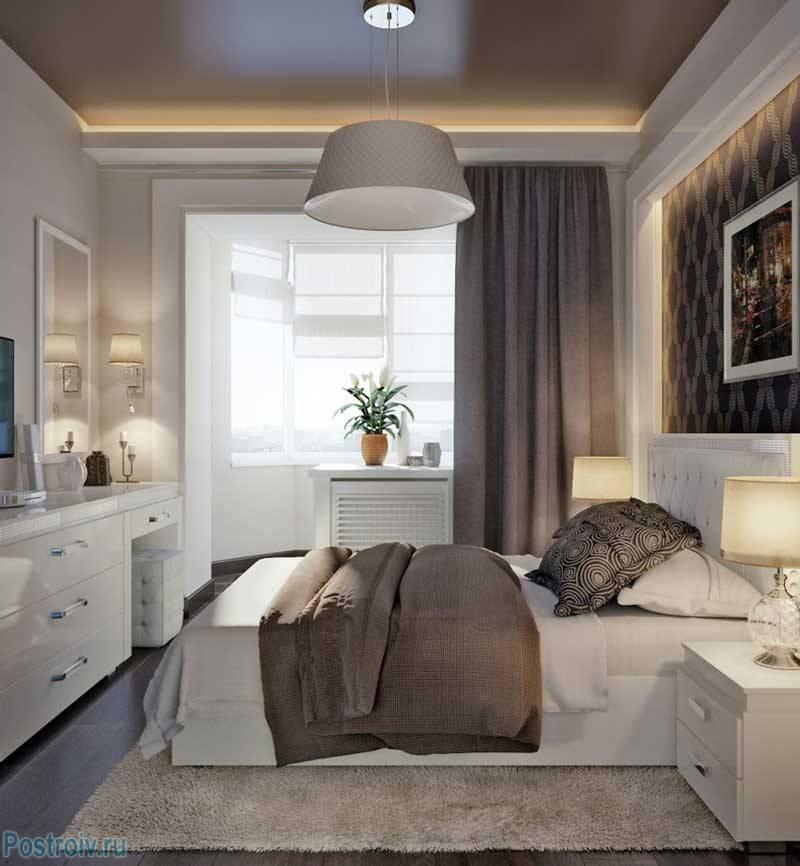 Спальня 15 кв. м. - уютный дизайн стандартной спальни (80 фото вариантов)
