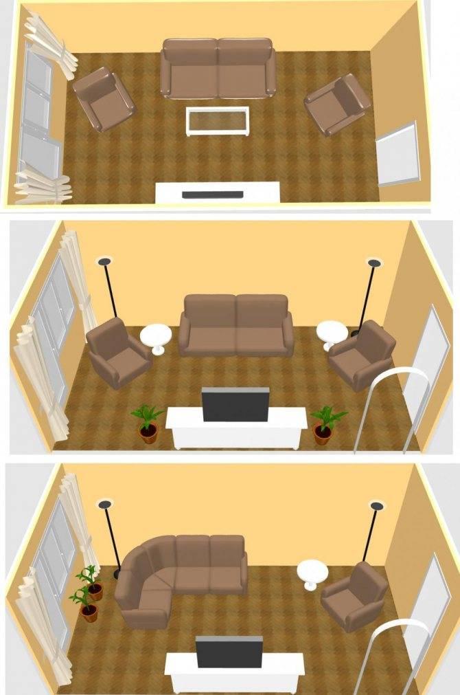 Два дивана в гостиной – особенности создания уютного пространства - 19 фото
