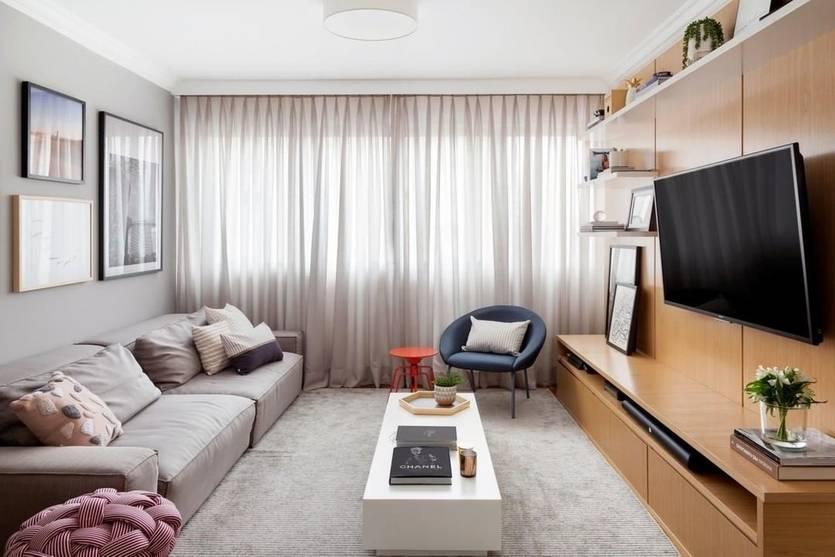 Дизайн комнат 12 кв. м в современном стиле (47 фото): с диваном и другой мебелью, примеры дизайна комнат для семьи