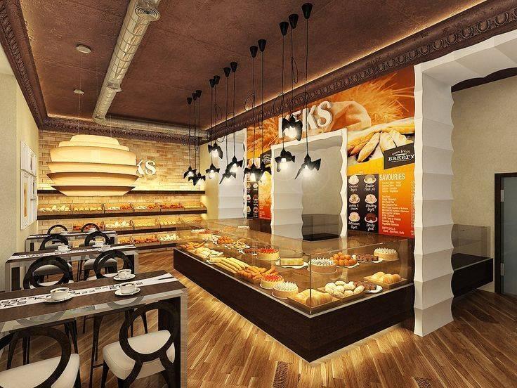 Интерьер кафе в современном стиле: дизайн, отделка стен и проекты оформления   - 56 фото
