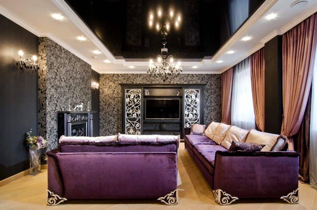 Арт-деко в интерьере (195+фото) - дизайн в гостиной/кухне/прихожей