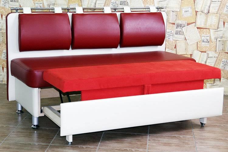 Малогабаритные раздвижные кухонные диваны: преимущества и недостатки