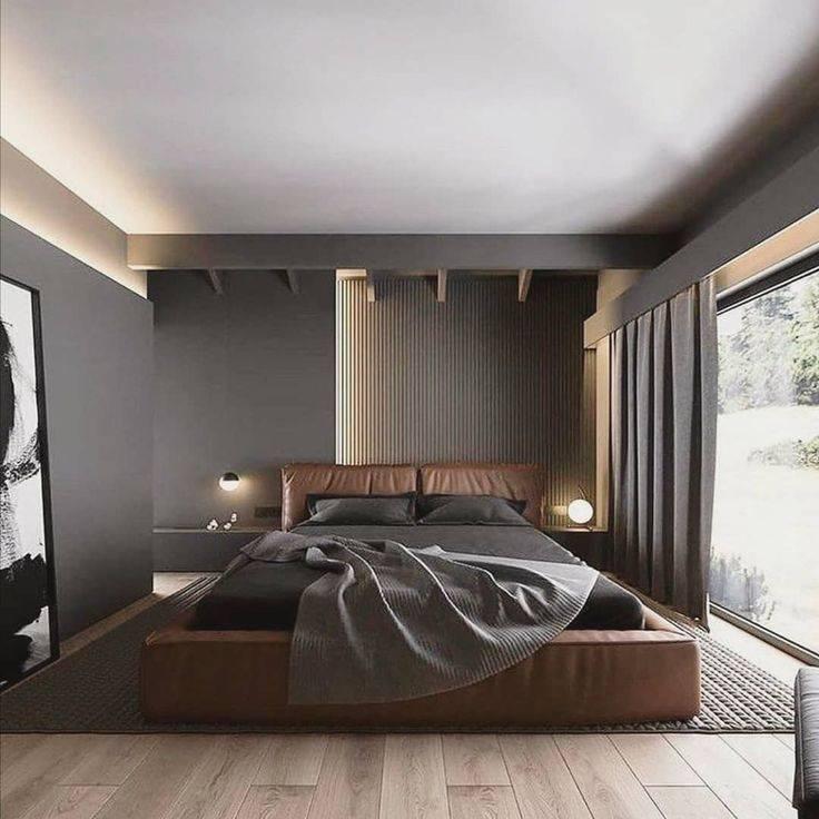 Спальня в стиле модерн: топ-150 фото новинок, особенности дизайна и оформления интерьера, красивые планировки