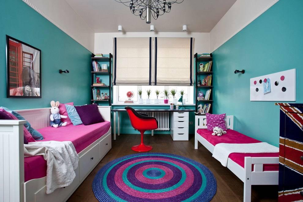 Комната для мальчика и девочки: планировка, дизайн интерьера для двух детей разного пола