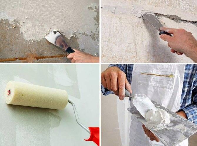 Шпаклевка стен своими руками: пошаговые инструкции и технология шпаклевания под обои и покраску, принципы нанесения шпаклевки на стену