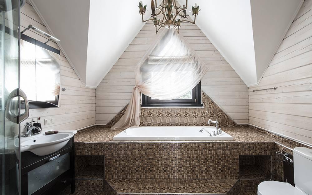Ванная комната в частном доме: варианты дизайна и 35 фото в интерьере