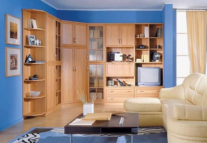 Стенки-горки в гостиную — обзор лучших примеров использования стенок с горкой в дизайне интерьера