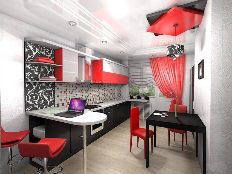 Маленькая кухня площадью 5 кв. метров: реальные фото примеры