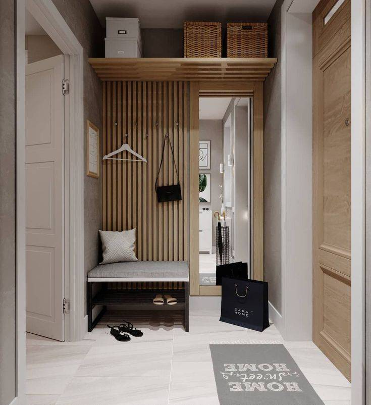 Фотографии дизайна малогабаритных прихожих в коридор