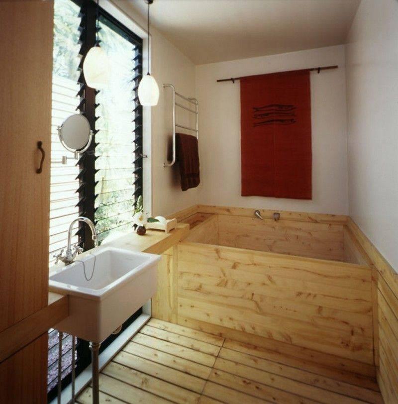 Японская баня бочка: название, что такое фурако
