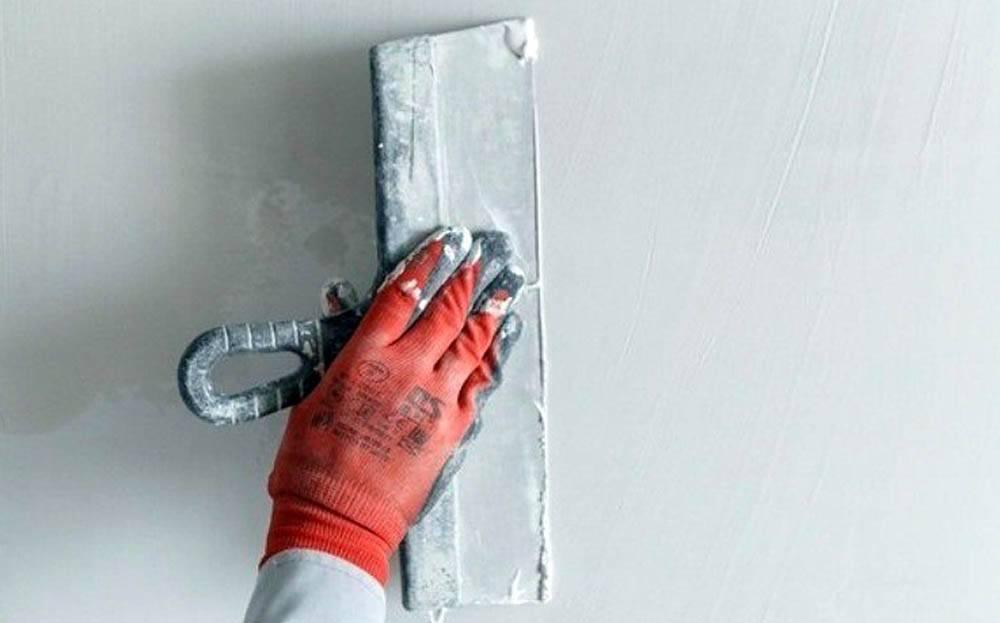 Как правильно зашпаклевать стены своими руками: стартовая и финишная обработка поверхности