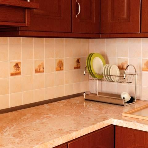 Фартук для кухни из плитки 2021: новейшие дизайнерские идеи с фото