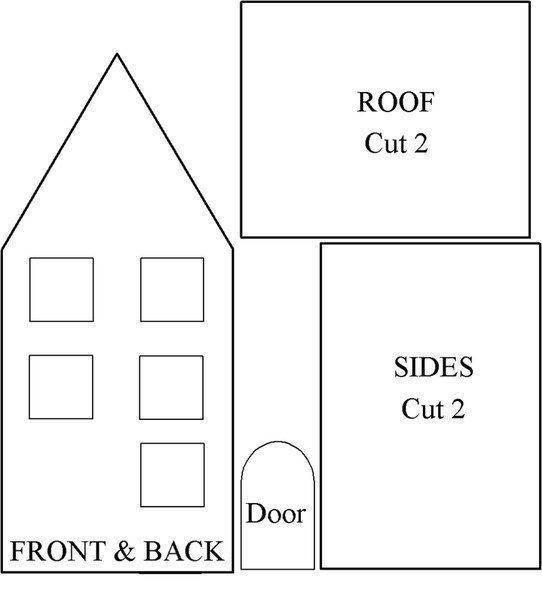 Как сделать домик из картона для детей своими руками