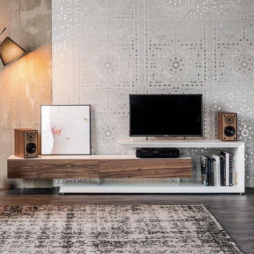 Тумбы  в современном стиле под телевизор (69 фото): размеры моделей телевизионных тумбочек с современным дизайном, мебель в интерьере