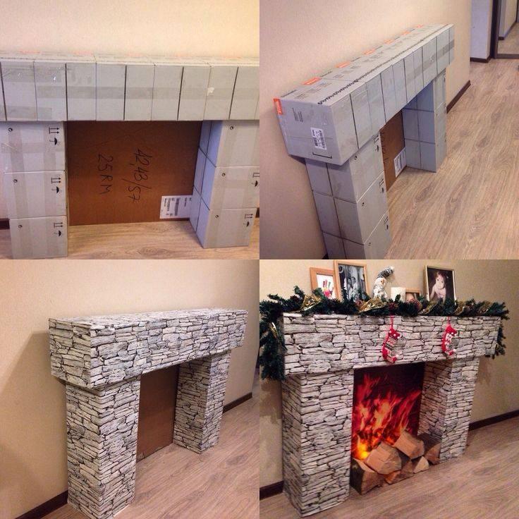 Камины в интерьере квартиры или дома: идеи оформления и дизайна