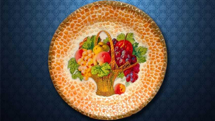 Мозаика своими руками: из плитки, из яичной скорлупы и стекла