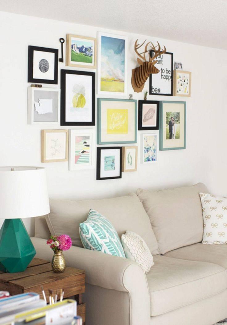 Декор из остатков обоев: панно в рамке на стене +50 фото идей