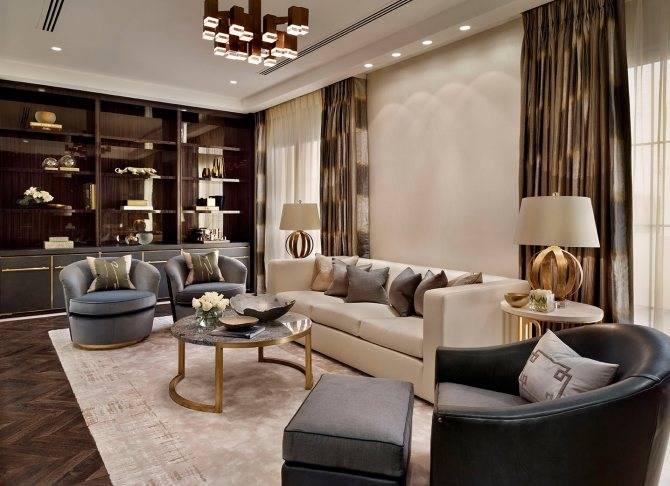 Все о стиле арт-деко: варианты для 6 комнат и особенности интерьера