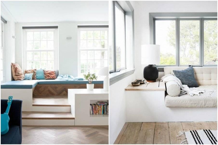 Как красиво оформить окно на кухне?